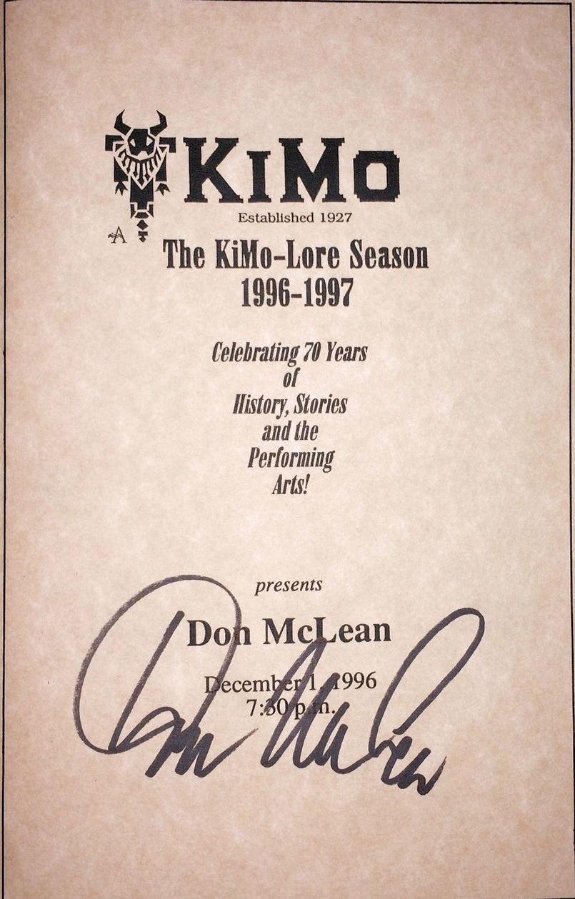 McLean Concert Brochure