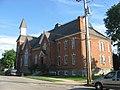 Mechanicsburg Baptist Church from the north.jpg