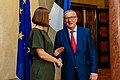 Meeting of European Commission President Jean Claude Juncker and Estonian President Kersti Kaljulaid IMGL4047 (35457752672).jpg