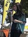 Melissa Reyes performing at 14th AF-AFC 22.JPG
