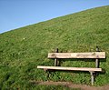 Memorial bench, Sugar Loaf, looking to the South West - geograph.org.uk - 365709.jpg