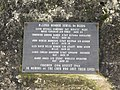 Memorial to Handley Page Halifax crash, Wetherby Golf Course (21st February 2021) 002.jpg