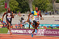 Men 100 m French Athletics Championships 2013 t154955.jpg