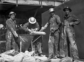 Brazoria County, Texas - Group of men at work in Brazoria County, 1939