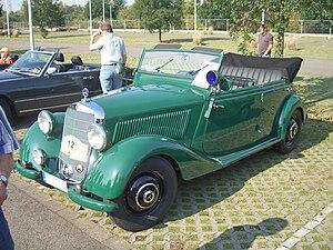 "Mercedes-Benz W136 - Mercedes-Benz 170D OTP ""Police special"" (1951-1952)"