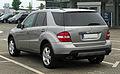 Mercedes-Benz ML 320 CDI 4MATIC (W 164) – Heckansicht (1), 27. April 2011, Velbert.jpg