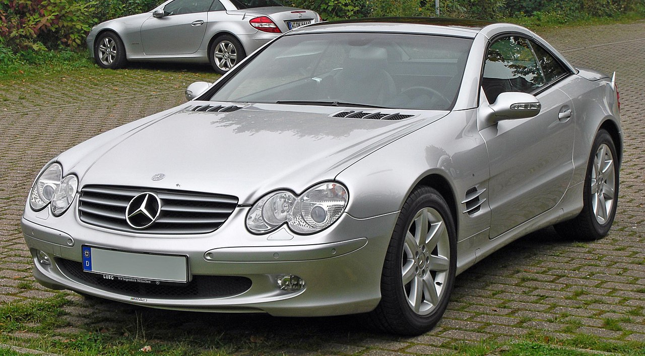 datei mercedes sl 500 front jpg wikipedia. Black Bedroom Furniture Sets. Home Design Ideas