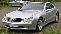 Mercedes SL 500 front.JPG