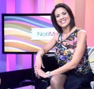 Mercedes Soler (journalist) - Soler on CNN set