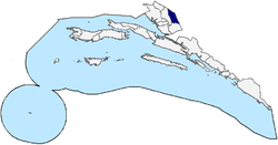 Metković within Dubrovnik-Neretva County
