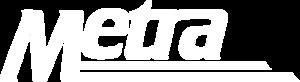 Blue Island station - Image: Metra logo negative