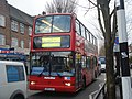 "Metroline TP439 on Route ""E3 EXTRA"", Northfields (12330834203).jpg"