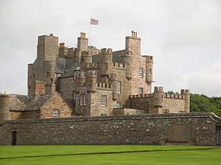Castle of Mey castle in Caithness, Scotland
