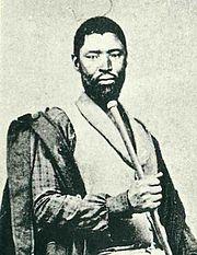Mgolombane Sandile - Xhosa Chief