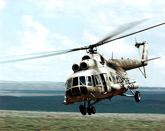 1991 Azerbaijani Mil Mi-8 shootdown - A Mil Mi-8 similar to the aircraft shot down