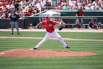 Micah Owings - Owings with the Reds in 2009.