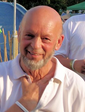 Glastonbury Festival - Michael Eavis in 2005