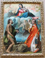 La Vierge glorieuse entre saint Jean-Baptiste et saint Étienne