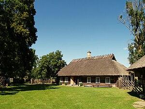 Farm museum - Mihkli Farm Museum in Viki, Estonia.