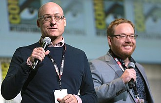 Trolls (film) - Director Mike Mitchell and co-director Walt Dohrn presented footage from the film at the 2016 San Diego Comic-Con International