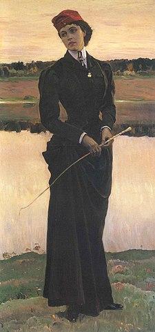 Портрет дочери, 1906