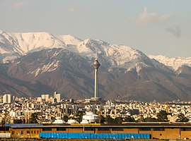 Milad Tower from Mehrabad view.jpg