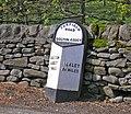 Milepost at Bolton Bridge - geograph.org.uk - 784509.jpg