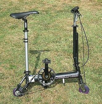 Portable bicycle - Image: Mini 125 02