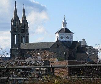 Mission Hill, Boston - Mission Church