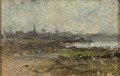 Misty Shore. Study (Emma Löwstädt-Chadwick) - Nationalmuseum - 20668.tif