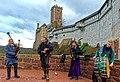 Mittelalterliche Musik beim Weihnachtsmarkt auf der Wartburg.jpg