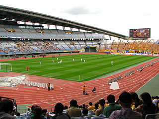 Q&A Stadium Miyagi Football stadium in Japan