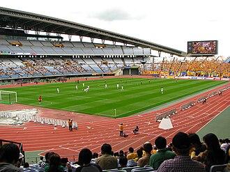 2012 FIFA U-20 Women's World Cup - Image: Miyagi Stadium Track Field
