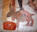 Mjölkhare från 1400-talet i Härkeberga kyrka 0718.jpg