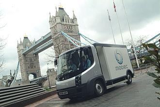 Modec - Modec van in London