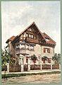 Moderne Villen in Meisteraquarellen Serie II Tafel 016 München-Pasing Villa Marschnerstraße 29.JPG