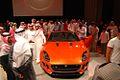 Mohammed Yousuf Naghi Motors unveils Jaguar F-TYPE in Jeddah, KSA (9004332585).jpg