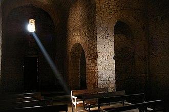 Monestir de Sant Llorenç del Munt - Interior view