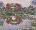 Monet - Blühende Rundbögen in Giverny.jpg