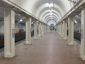 Monroe station (CTA Blue Line) - Image: Monroe Dearborn Station