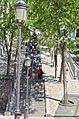 Montmartre Steps 2, Paris May 2014.jpg