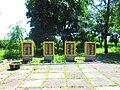 Monument to Soviet soldiers-compatriots in Ploske, Velykyi Burluk Raion by Venzz 04.jpg