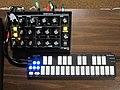 Moog Minitaur & QuNexus, PNW SynthFest 2013.jpg