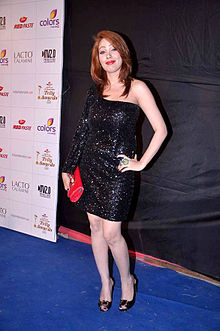 Moonmoon dutta colors indian telly awards.jpg
