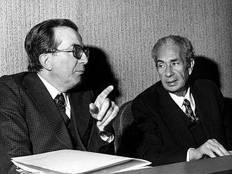 Giulio Andreotti - Giulio Andreotti with Aldo Moro