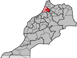 Location in Morocco