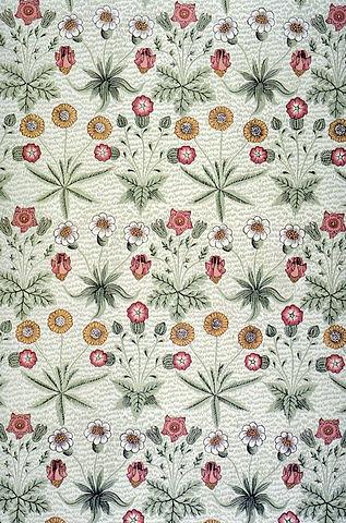 File:Morris Daisy wallpaper 1864.jpg - Wikimedia Commons