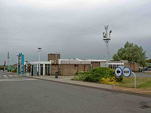 Grantham North services - Main building