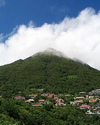 Mount Scenery - Image: Mount Scenery