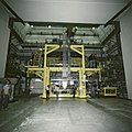 Moving UA5 into the beam, CERN, Sep 1981.jpg